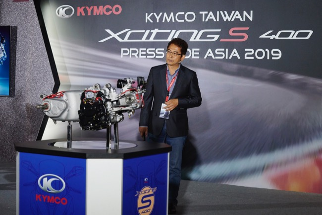 KYMCO | REVIEW: KYMCO XCITING S 400i